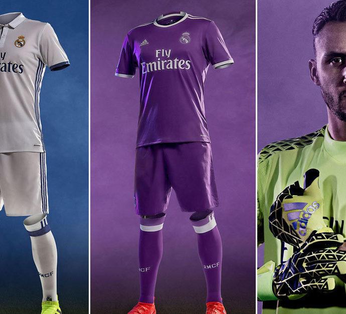 3e84b5f2c9d49 Real Madrid presenta indumentaria nueva temporada 2016 2017