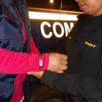 Sara Elizabeth Cruz Mansilla quien fue detenida en la diagonal 6 y 12 calle de la zona 5 de la Ciudad Capital.