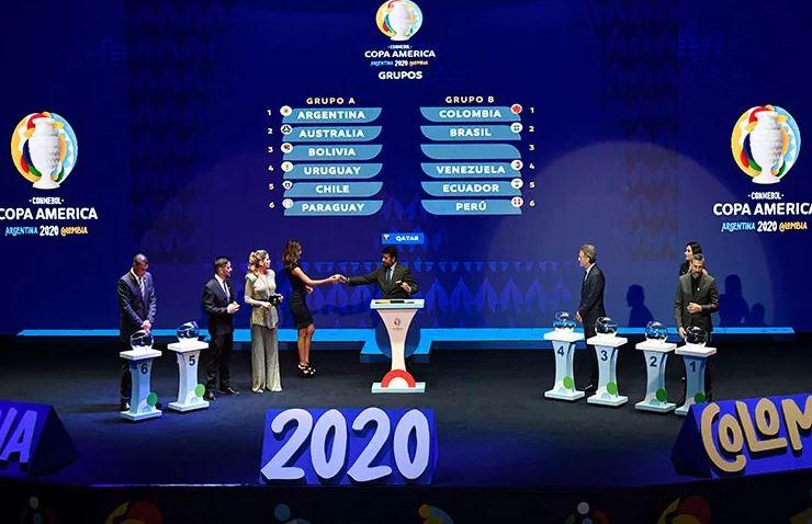 La Conmebol realizó el sorteo de la Copa América 2020 en la ciudad de Cartagena, Colombia. (Foto: CopaAmerica.com)
