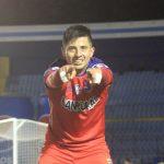Alejandro Díaz celebró el gol del triunfo para Municipal en el clásico 308 contra Comunicaciones. (Foto: CSD Municipal)