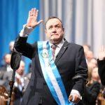 Alejandro Giammattei, Presidente de Guatemala, brindó su primer discurso luego de ser juramentado como mandatario del país. (Foto: Gobierno de Guatemala)