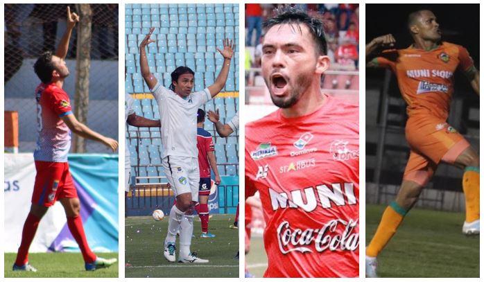 Kamiani, Herrera, Pérez y Arrieta, fueron figura en sus equipos en la primera jornada de Clausura 2020. (Foto: Twitter)