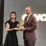 "El técnico Jorge ""El Zarco"" Rodríguez de Cobán Imperial, recibió el Premio Cancha, al mejor entrenador del 2019. (Foto: Twitter)"