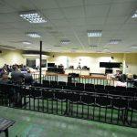 El juicio contra 30 personas implicadas en la creación de plazas fantasma en el Organismo Judicial inició este lunes. (Foto: Twitter)