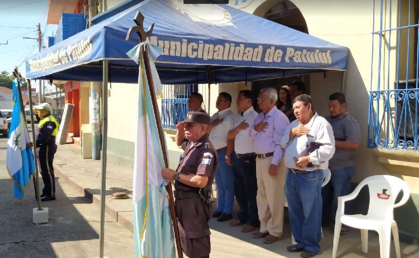 La PNC volvió al municipio de Patulul, Suchitepéquez, después de cinco años. (Foto: Cristian Soto)