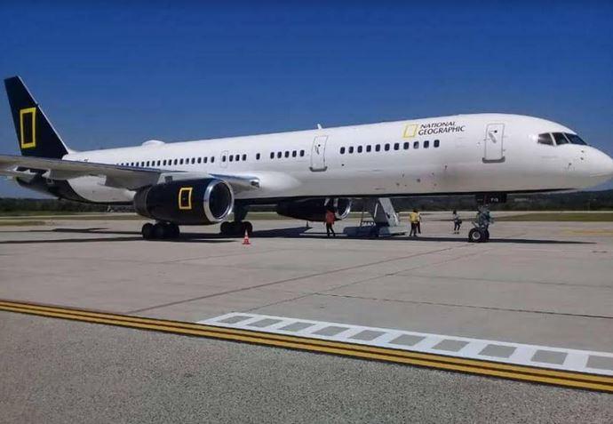 El vuelo salió de Washington, Estados Unidos de América, desde ayer 4 de febrero. Tiene programada la visita de siete países, entre ellos, Guatemala.