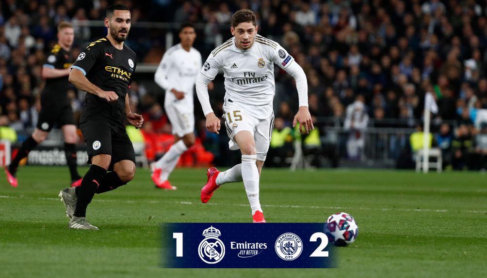 El Real Madrid perdió en casa 1-2 contra el Manchester City en la ida de octavos de final de la Liga de Campeones de Europa. (Foto: Real Madrid)