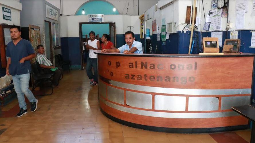 El Sindicato de Trabajadores del Hospital de Mazatenango denunció el mal estado en que se encuentran sus instalaciones. (Foto: Cristian Soto)