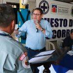 El diputado José Arnulfo García, electo por el departamento de Suchitepéquez, donará Q3 mil mensuales de su salario a la Brigada de Socorro de Chicacao. (Foto: Cristian Soto)