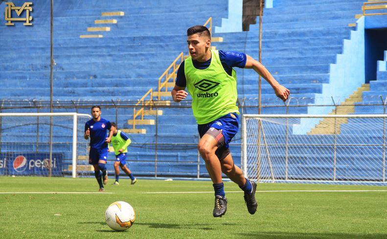 Municipal trabajó en el Estadio del Trébol de cara al partido contra Guastatoya por la novena fecha del Clausura 2020. (Foto: CSD Municipal)