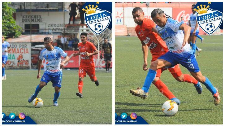 El conjunto de los príncipes azules perdió 1-0 de visitantes contra Deportivo Malacateco en el Estadio Santa Lucía, en Malacatán, San Marcos. (Foto: Cobán Imperial)