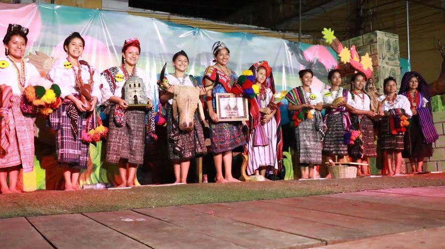 Clementina Tunay Dionicio, fue electa como la nueva Nim Alí Re Xochiltepetl en Mazatenango. (Foto: Cristian Soto)