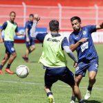 Xelajú MC trabajó este día en el Estadio Mario Camposeco previo al partido contra Municipal. (Foto: Carlos Ventura)
