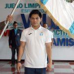 Jorge Vega fue juramentado previo a su participación internacional en las copas del mundo donde buscará su boleto a los Juegos Olímpicos de Tokio 2020. (Foto: COG)