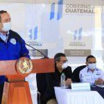 El presidente Alejandro Giammattei confirmó de tres casos más de Covid-19, pero adelantó también que hay cuatro casos recuperados. (Foto: Secretaría de Comunicación Social de la Presidencia)