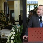 El presidente Alejandro Giammattei pidió al MP que caiga todo el peso de la ley contra los asesinos del policía. (Foto: AGN)