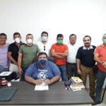 Las autoridades municipales trabajan en la exoneración del pago de servicios en Suchitepéquez. (Foto: Cristian Soto)