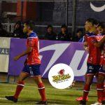 Los jugadores de Xelajú celebran junto a José Pérez el gol que al final le significó la victoria al conjunto de Xelajú MC. (Foto: Xelajú MC)