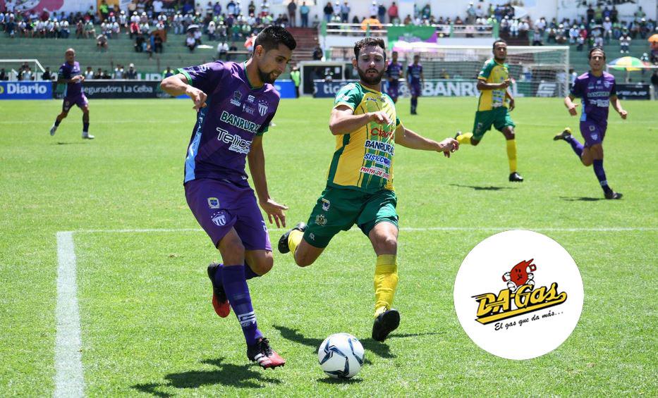 El partido entre Antigua GFC y Guastatoya se disputó en el Estadio Pensativo en la ciudad colonial de Antigua Guatemala. (Foto: Antigua GFC)