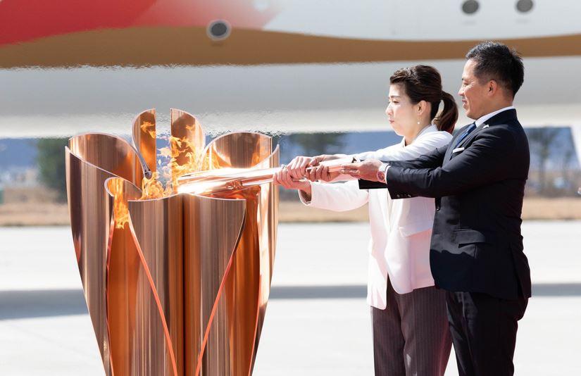 La antorcha olímpica de los Juegos de Tokio 2020 llegó este viernes a territorio tokiota. (Foto: Tokio 2020)