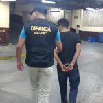 Luis David Bac Chávez fue capturado por las autoridades acusado de asesinar y posteriormente intentar enterrar el cuerpo de su víctima. (Foto: PNC)