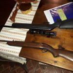 Las autoridades encontraron armas y celulares en los allanamientos realizados para desarticular a la banda criminal. (Foto: MP)