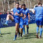 El equipo cobanero trabajó esta mañana en el Estadio Verapaz. (Foto: Eduardo Sam)