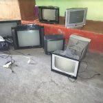 Estos algunos de los electrodomésticos incautados este jueves por las autoridades de la PNC y el SP. (Foto: PNC)