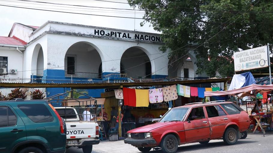Las autoridades indicaron que no se atenderán casos de Coronavirus, si llegaran a existir, en el Hospital de Mazatenango. (Foto: Cristian Soto)