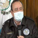 El presidente Alejandro Giammattei confirmó el caso 20 de Coronavirus en Guatemala. (Foto: Captura de video)