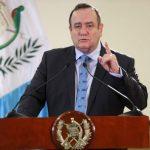 El Presidente Alejandro Giammattei confirmó seis casos de Coronavirus en Guatemala. Además anunció el cierre de las fronteras. (Foto: Presidencia)