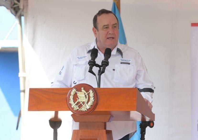 El presidente Alejandro Giammattei confirmó el primer caso de Coronavirus en Guatemala. (Foto: Presidencia)