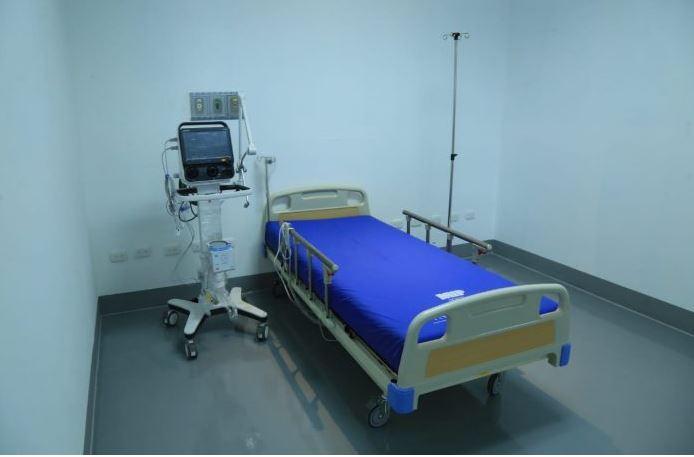 Los pacientes serán trasladados del hospital de Villa Nueva al hospital temporal del Parque de la Industria. (Foto: AGN)