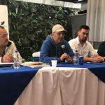 El empresario Patricio Quinteros fue presentado este viernes como el nuevo presidente de la junta directiva de Cobán Imperial. (Foto: Eduaro Sam)