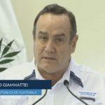El presidente Alejandro Giammattei se dirigió a la población en un mensaje en cadena nacional. (Foto: Captura de video)