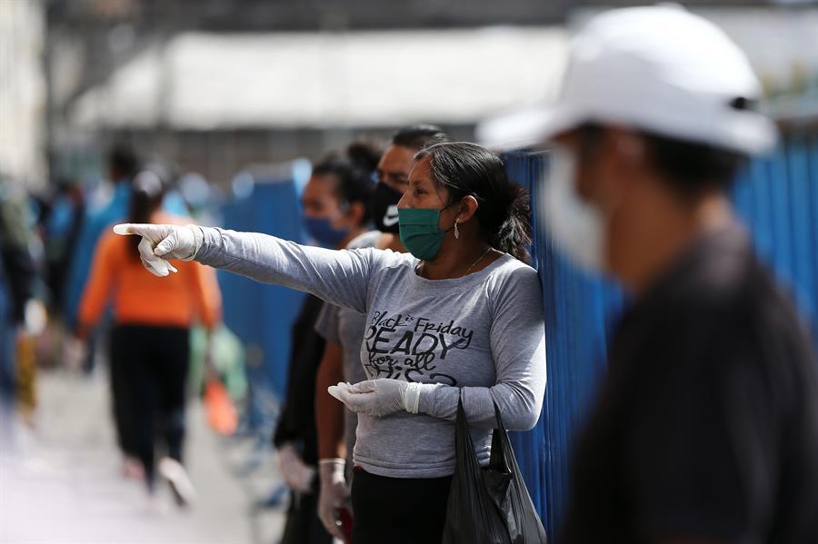 La cifra de personas fallecidas por COVID-19 en Ecuador aumentó a 315. (Foto: EFE)