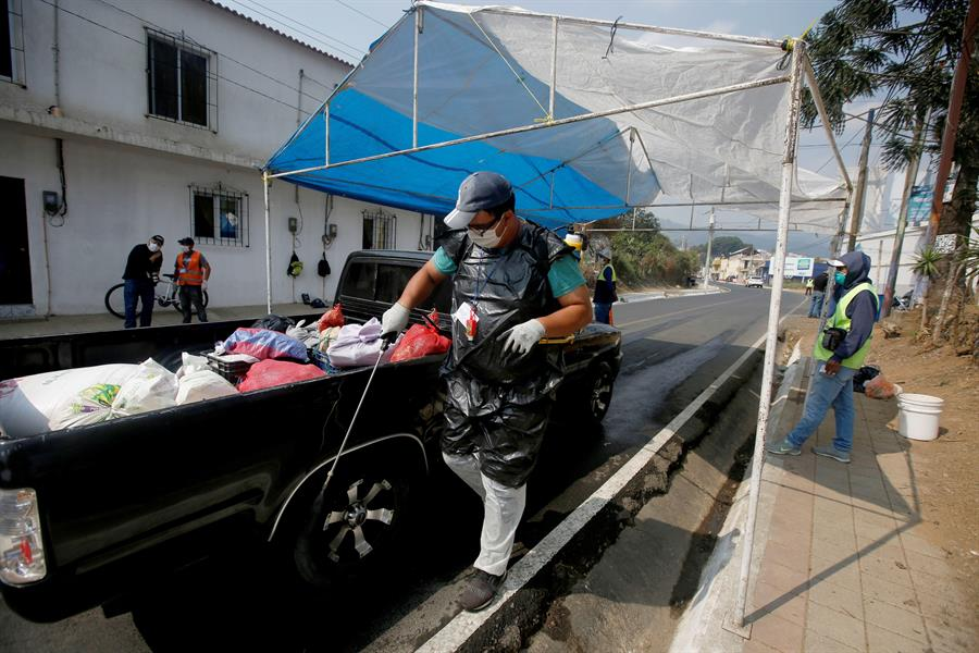 Guatemala sumó 21 nuevos casos más de COVID-19, en total suman 235. De esa cifra 205 son activos, 21 se han recuperado y 7 han fallecido. (Foto: SCSP)