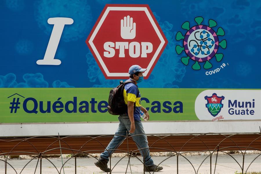 Guatemala suma según los últimos datos 430 casos de COVID-19 desde que se detectó el primero el día 13 de marzo. (Foto: EFE)