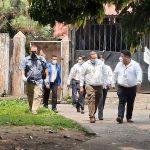 La comisión fiscalizadora del Congreso visitó el Hospital de Mazate este sábado. (Foto: Cristian Soto)