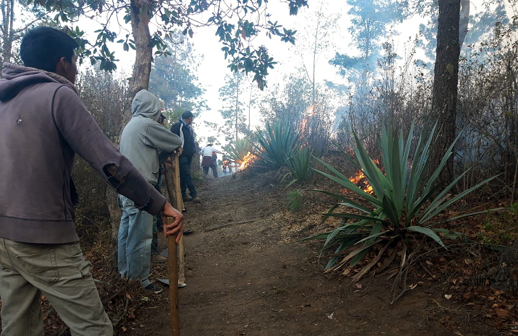 incendios Quetzaltenango Totonicapán