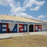 El Hospital temporal de Quetzaltenango para atender personas con COVID-19, carece de médicos, sin embargo ya se encuentra en operaciones. (Foto: Gobierno de Guatemala)