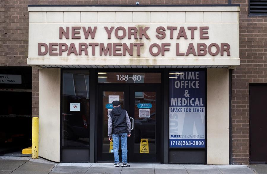 La semana pasada otros 6,6 millones solicitaran el subsidio por desempleo en Estados Unidos. (Foto: EFE)