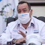 El presidente Alejandro Giammattei dijo que a partir del lunes será obligatorio utilizar mascarilla. (Foto: SCSP)
