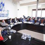 En la reunión de la Comisión Presidencial de Protección Ciudadana del Congreso se definió que la excarcelación de reos vulnerables al COVID-19, ya no será por ley. (Foto: Congreso de la República)