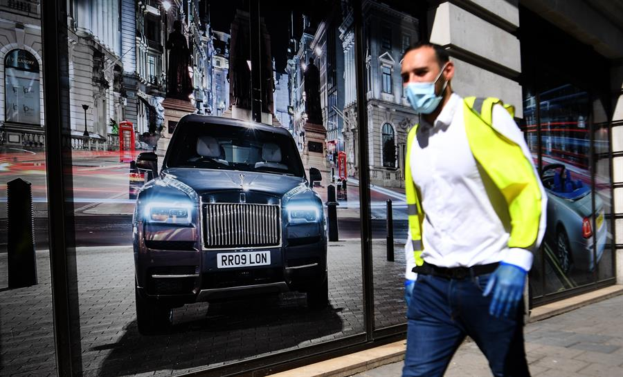 Reino Unido superó los 36 mil muertos y reportó más de 2 mil nuevos contagios de COVID-19. (Foto: EFE)