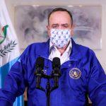 Presidente Giammattei advierte de cerrar el país por 15 días