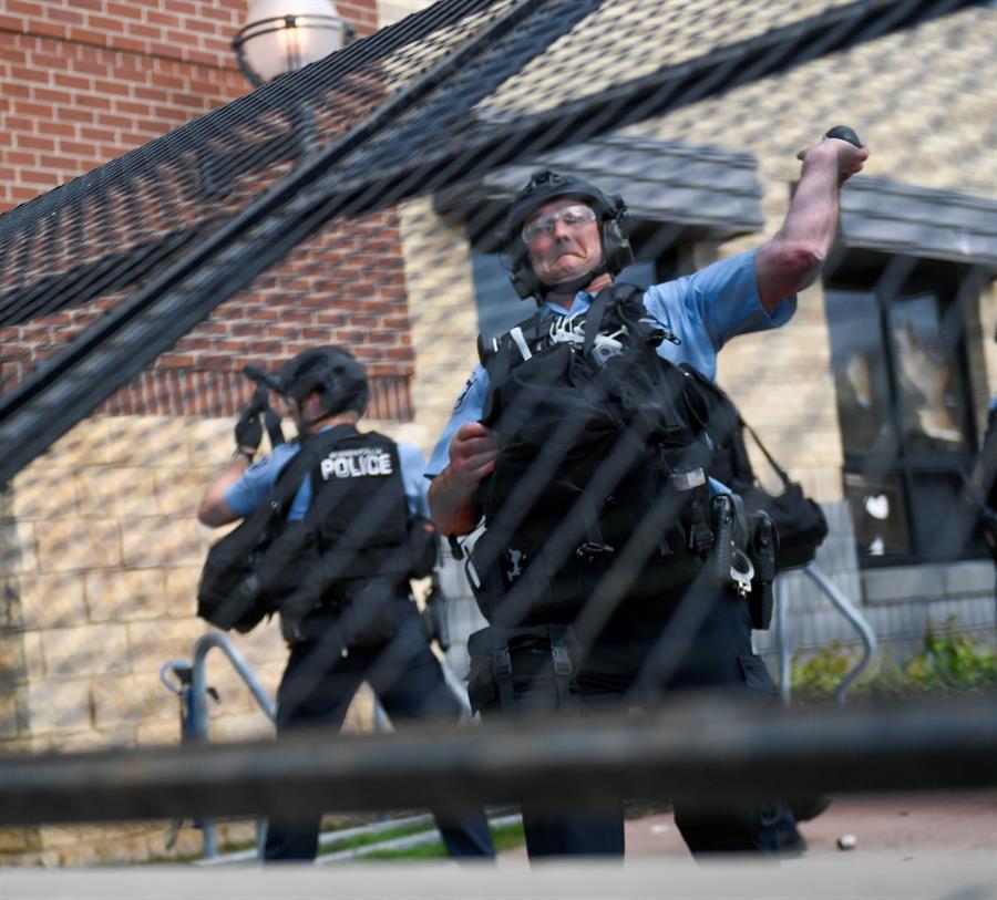 George Floyd falleció a consecuencia de un procedimiento policial en la ciudad de Minneapolis, Minnesota. (Foto: EFE)