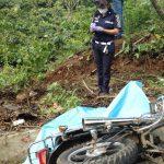 Las autoridades investigan la forma en que ocurrió el accidente entre el camión y la motocicleta que dejó a una persona fallecida. (Foto: BMC de Colomba)