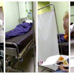 Un grupo de pacientes con COVID-19 del IGSS de la zona 9, grabó un video donde denuncian que tuvieron que convivir con un cadáver durante varias horas. (Foto: Captura de video)