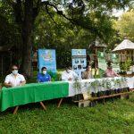 Las autoridades presentaron el proyecto Sembrando Huella en la conmemoración del Día del Árbol el pasado viernes 22. (Foto: Eduardo Sam)
